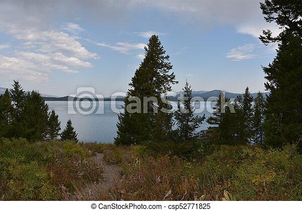 Grand Teton National Park in Wyoming - csp52771825