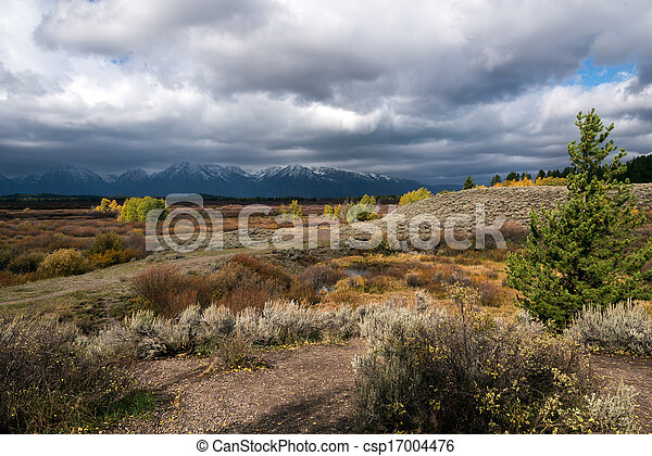 Grand Teton National Park - csp17004476