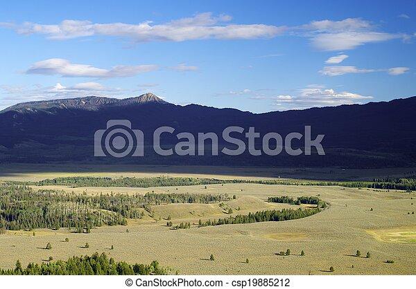 Grand Teton National Park - csp19885212