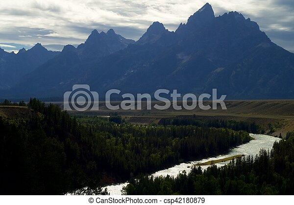 Grand Teton National Park - csp42180879