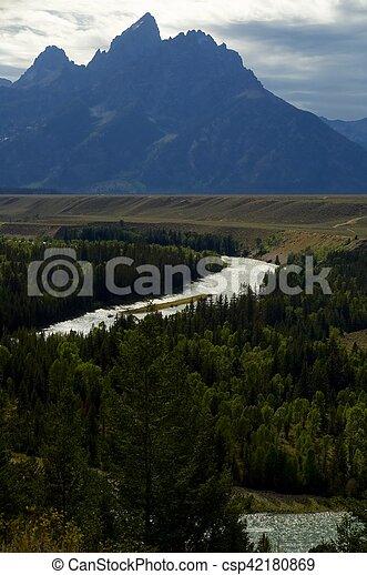 Grand Teton National Park - csp42180869