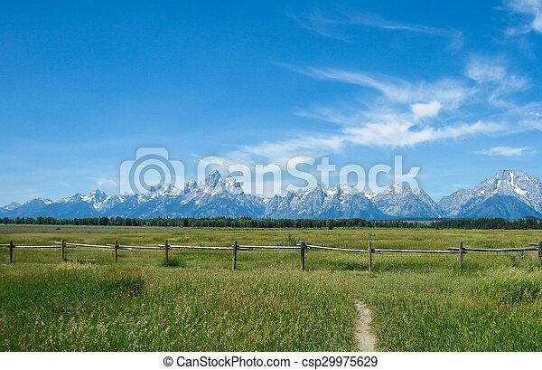 Grand Teton National Park - csp29975629