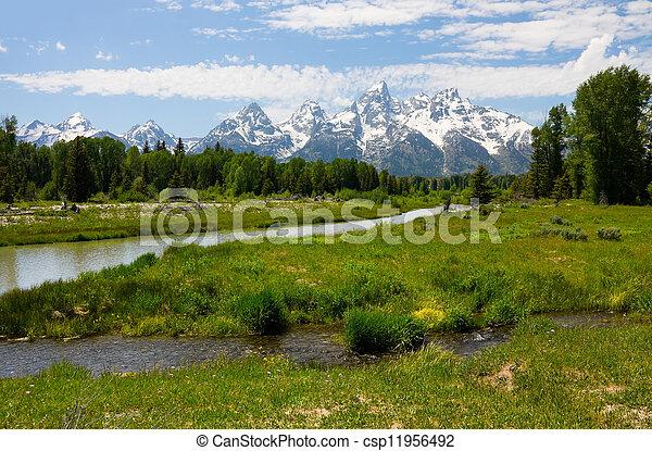 Grand Teton National Park - csp11956492