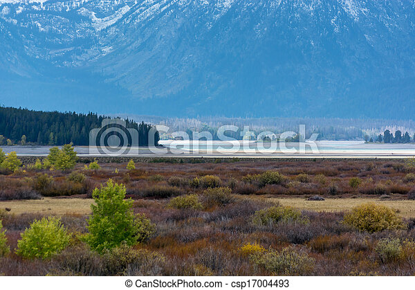 Grand Teton National Park - csp17004493