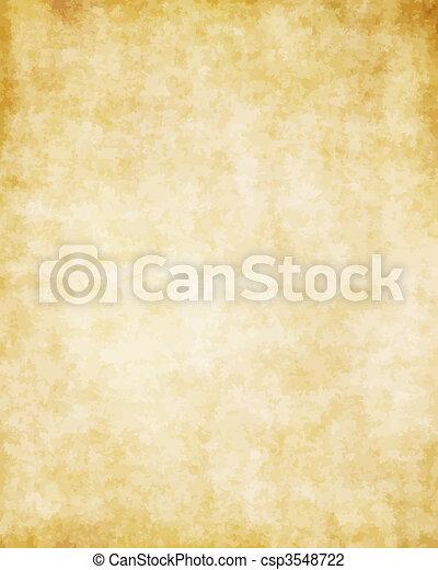grand, vieux, texture, papier, fond, parchemin - csp3548722