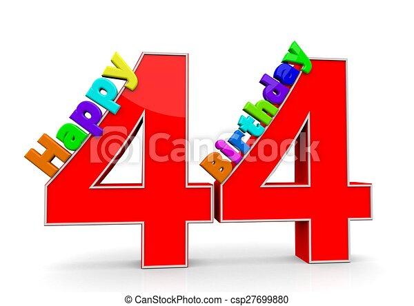 +44 Numero