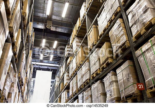Gran almacén de muebles - csp14535249