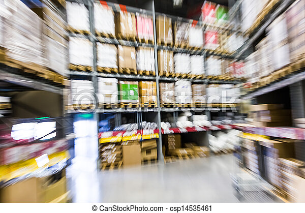 Gran almacén de muebles - csp14535461