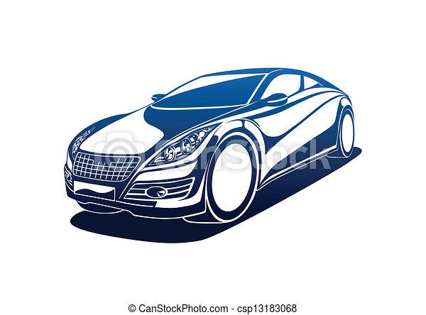 grande, automobile - csp13183068