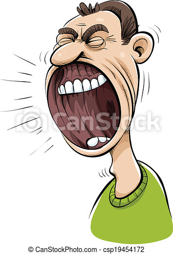Grande Bouche Cris Cris Mouth Bouche Dessin Anim 233 Illustration Vecteurs Rechercher