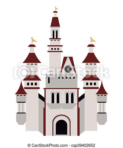 Gran icono del castillo - csp39402652