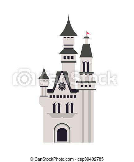 Gran icono del castillo - csp39402785