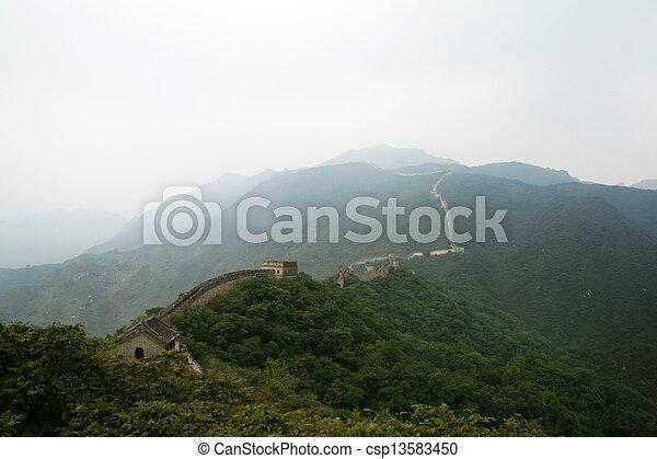 Gran muro chino, China - csp13583450