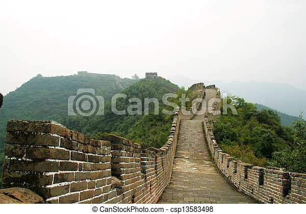 Gran muro chino, China - csp13583498