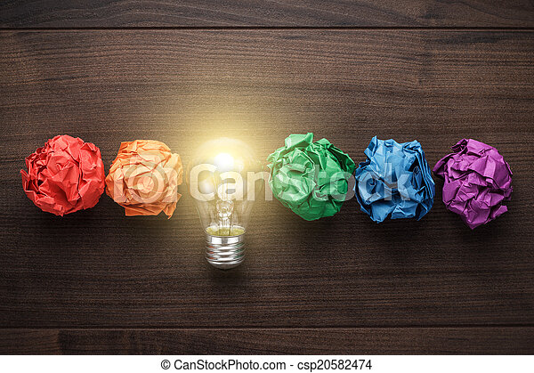 grande, concepto, idea - csp20582474