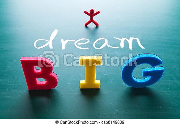 grande, concetto, sogno - csp8149609