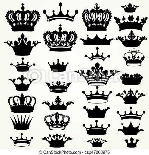 Keep calm crown svg transparent download black and white