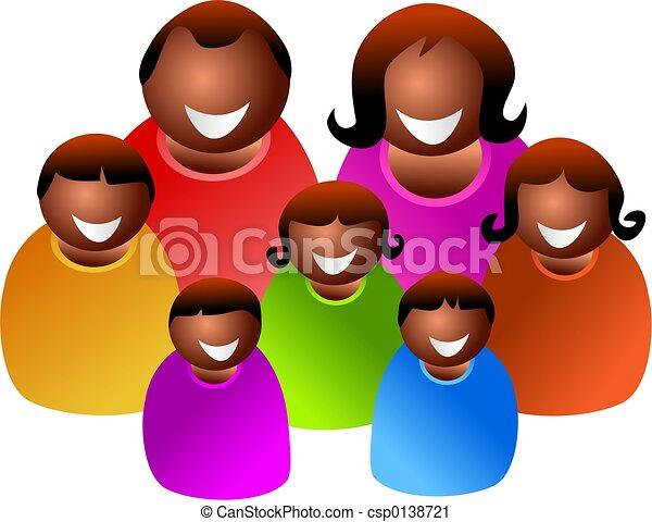 grande, famiglia - csp0138721