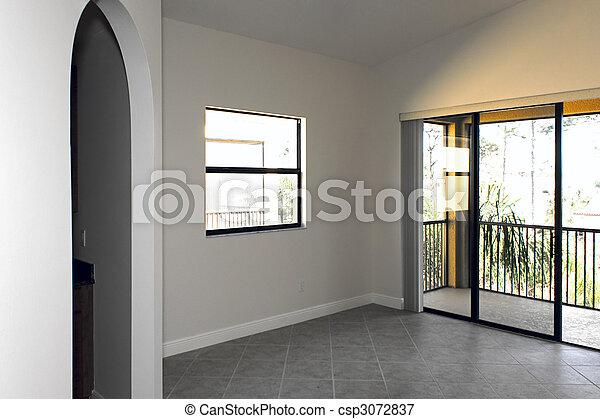 Una gran habitación vacía - csp3072837