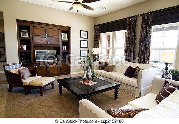 Una gran sala de estar - csp2152188