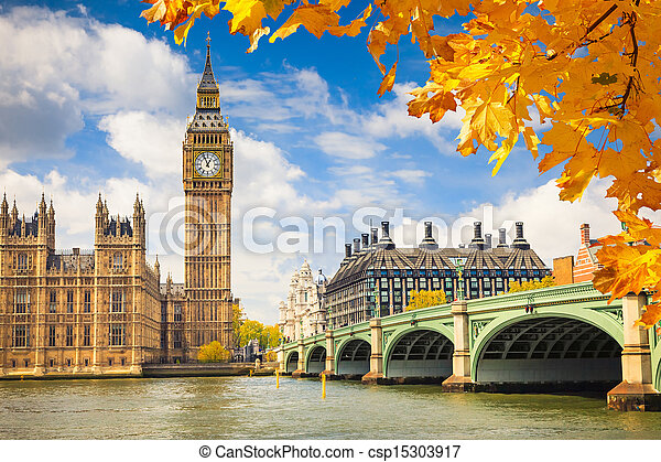 Big Ben, Londres - csp15303917