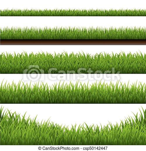 La frontera del pasto es grande - csp50142447