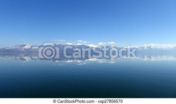 grande, prespa, lago, macedonia - csp27856570