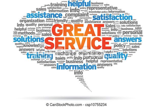grande, servizio - csp10755234