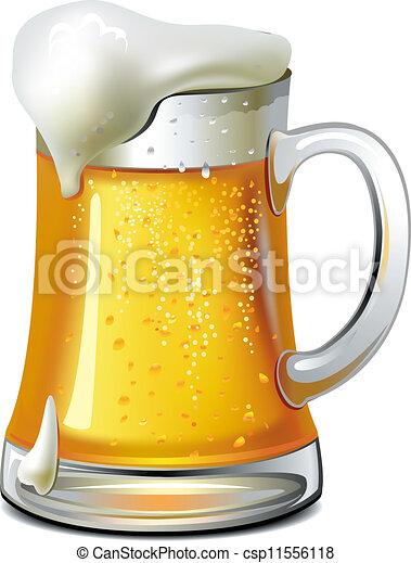grande tasse bière - csp11556118