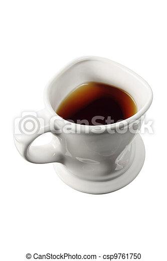 grande tasse café - csp9761750