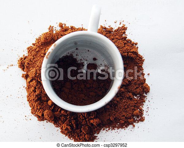 grande tasse café - csp3297952