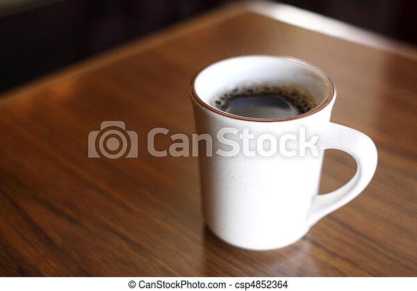 grande tasse café - csp4852364