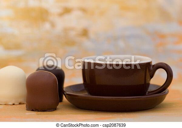 grande tasse café - csp2087639