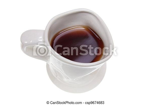 grande tasse café - csp9674683