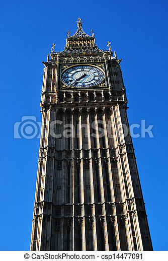 La torre de Big Ben - csp14477091