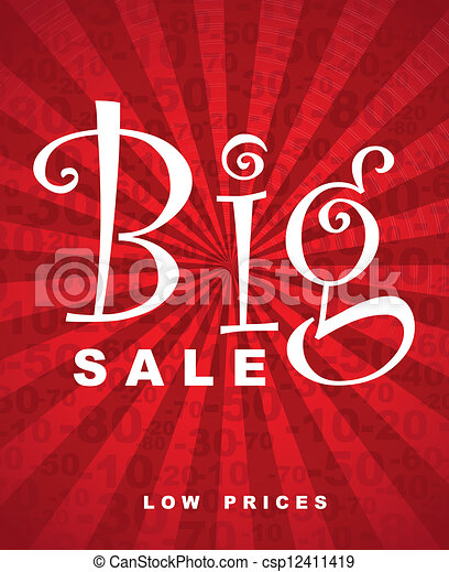 Gran venta - csp12411419