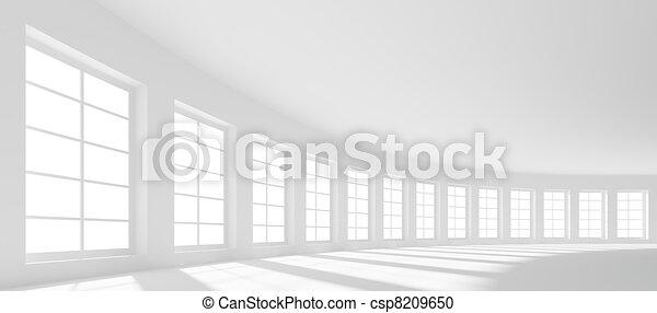 Un salón grande - csp8209650
