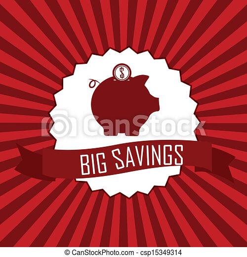 grandes économies - csp15349314
