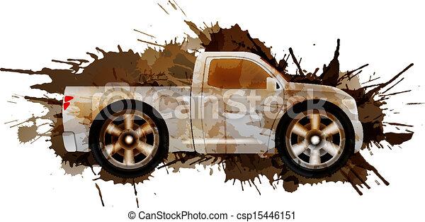 grandes roues, pick-up, sale - csp15446151