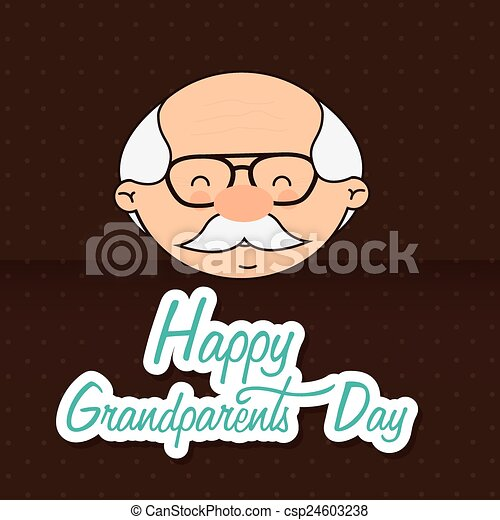 grandfathers day design vector illustration eps10 graphic