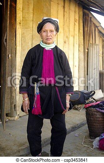 Grandma Black Dao - csp3453841