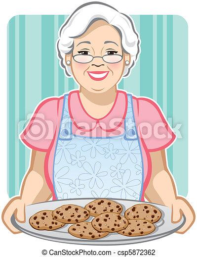 Grandma's Cookies - csp5872362