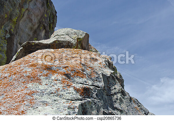 Granite Formation in the City of Rocks - csp20865736