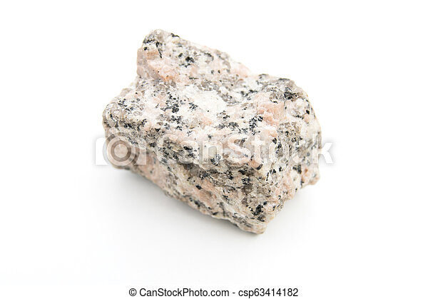 granite isolated over white - csp63414182
