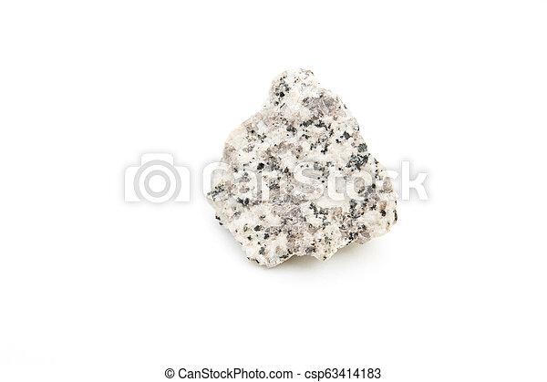 granite isolated over white - csp63414183
