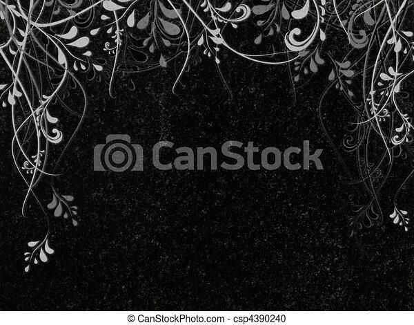 Granito condecorado - csp4390240