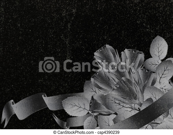 Granito condecorado - csp4390239