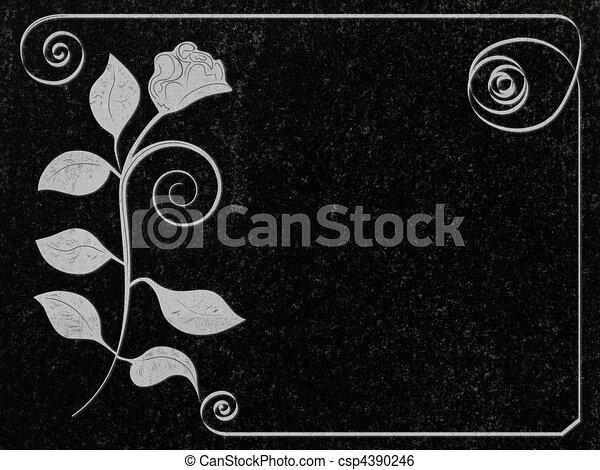 Granito condecorado - csp4390246