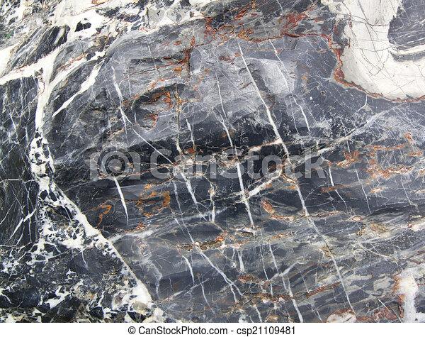 Mármol de granito - csp21109481