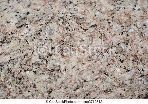 granito, pietra, fondo - csp3719512